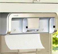 חובה בכל מטבח! מושלם גם למשרד! CleanCut מכשיר לשליפת מגבות נייר ללא מגע בעל חיישן להוצאת הנייר!