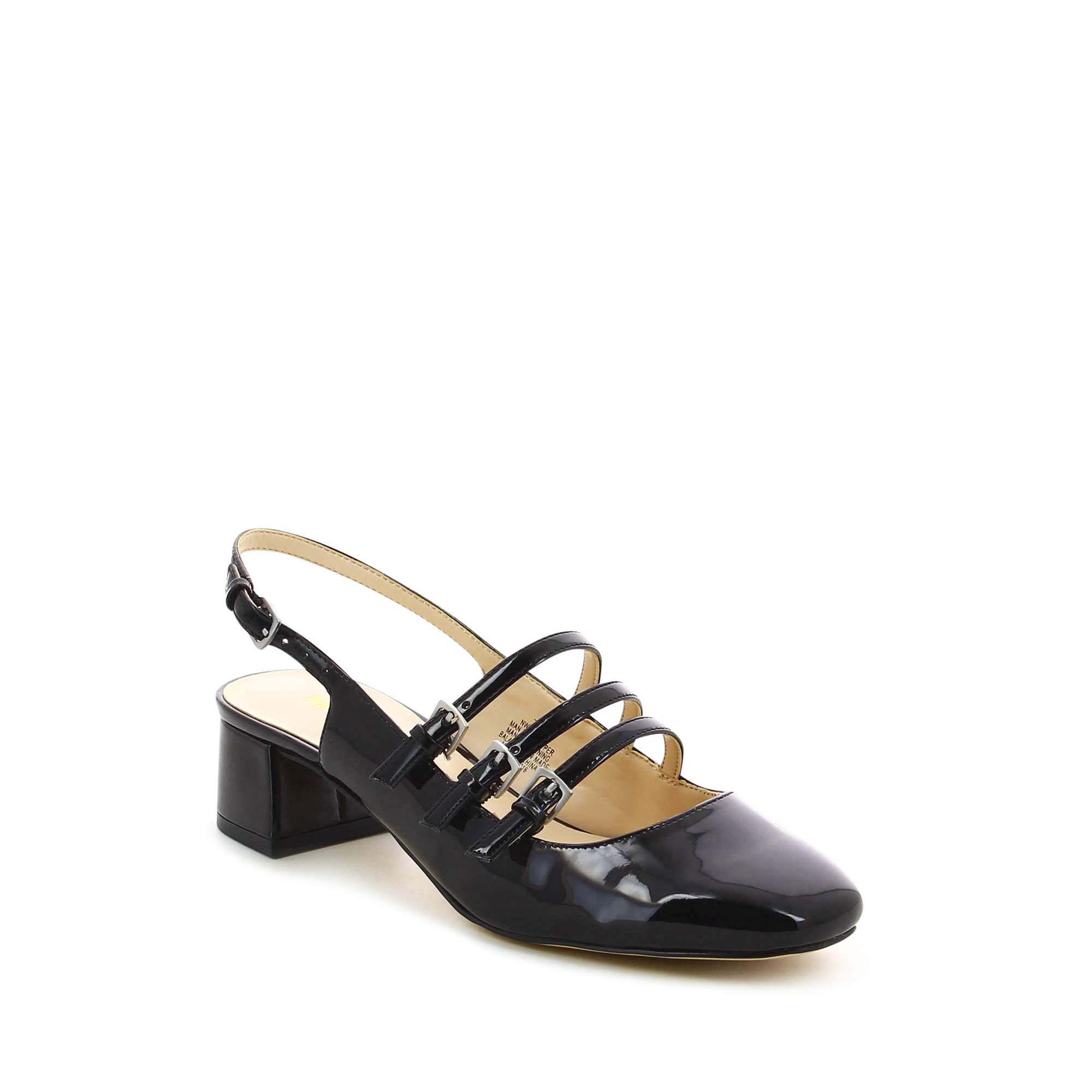 Weirley נעלי מרי גיין שחורות