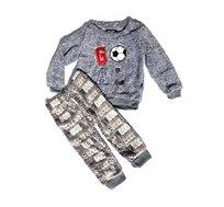 2 פיג'מות דגם קורל רכות ונעימות במיוחד לילדים