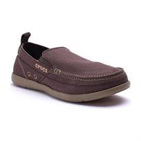 Crocs Walu - נעל גברים ללא שרוכים בצבע אספרסוחימר