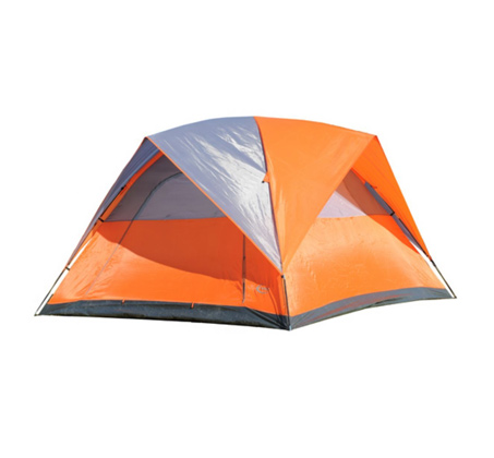 אוהל ל-6 אנשים הכולל 2 פתחי כניסה רחבים וגבוהים למעבר נח