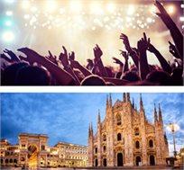 """טסים לראות את דיוויד גואטה בהופעה במילאנו כולל 4 לילות במלון ע""""ב ארוחת בוקר החל מכ-€399* לאדם!"""