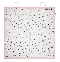 משטח פעילות 4 חלקים מתקפל מסדרת הכוכבים ורוד/לבן