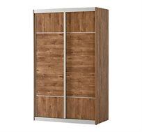ארון הזזה לחדר שינה 2 דלתות ומגירות רהיטי יראון במגוון צבעים לבחירה