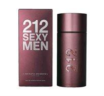 """בושם לגברים קרולינה הררה 212 Sexy א.ד.ט 100 מ""""ל Carolina herrera"""