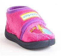 נעלי בית דפנה לפיצפונים דגם אורית בלונים בצבע ורוד