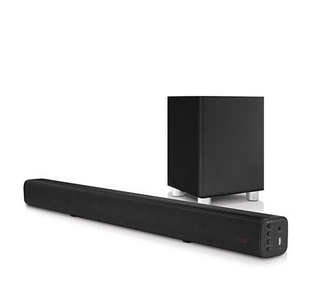 סאונד בר PURE ACOUSTICS Bluetooth עם סאב וופר אלחוטי בעוצמה 225W דגם HDS-220