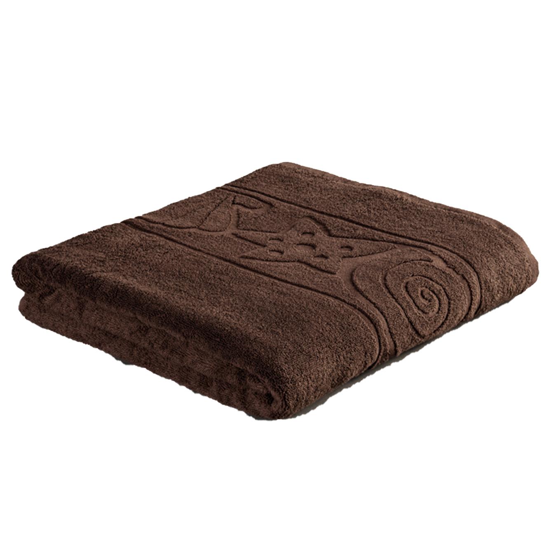 סט הכולל שלוש מגבות אמבט רכות ומפנקות עשויות 100% כותנה בטקסטורת צדפים מגבות ערד - תמונה 2