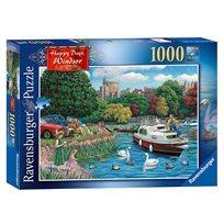 פזל 1000 אגם על רקע טירת ווינדזור