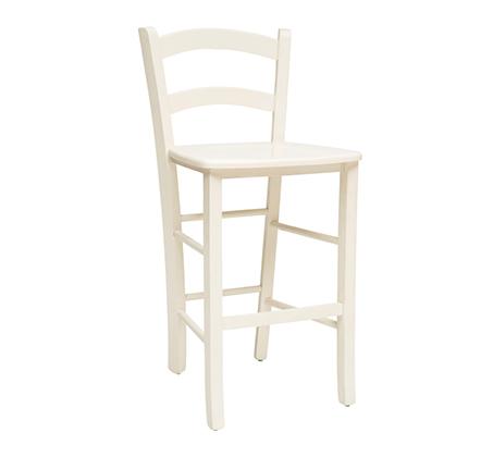 כסא בר למטבח מעץ כולל ריפוד מושב דגם קאנטרי