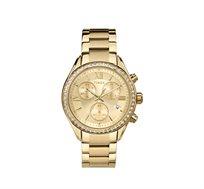 שעון יד אופנתי לאישה מבית TIMEX העולמית - משובץ אבני סברובסקי