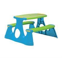 שולחן פיקניק לילדים עשוי פלסטיק איכותי למגוון שימושים