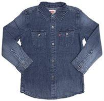 LEVI'S ילדים קטנים // modern westren shirt blue