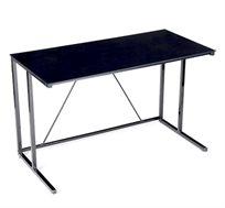 שולחן כתיבה עם משטח רחב מזכוכית איכותי ויציב, מתאים לבית ולמשרד!