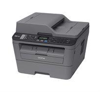 מדפסת לייזר אלחוטית MFC-L2700DW משולבת מדפסת, פקס, צילום וסורק מבית Brother + טיונר מתנה - משלוח חינם!