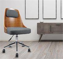 כיסא משרדי מעוצב עם ידית כוונון גובה