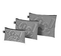 סט שלישיית נרתיקים מסדרת GOGOGO בגדלים שונים LOQI