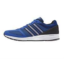 נעלי ריצה לגברים ADIDAS MENS MANA RC BOUNCE RUNNING SHOES B72975 בצבע כחול/שחור/לבן