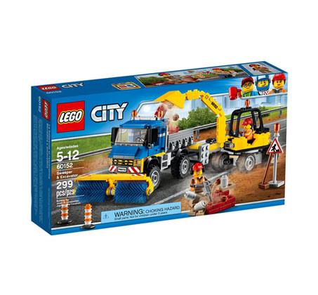 טרקטור ומשאית סיטי 60152  - משחק לילדים לגו
