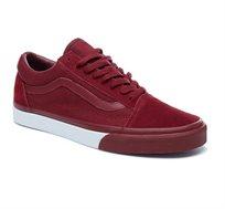 נעלי ואנס לגברים דגם OLD SKOOL VA38G1Q7H בצבע בורדו