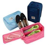 פתרון לכל הדרך! מזוודה לאחסון ונשיאה נוחים ונקיים של הנעליים בנסיעות, ב-4 צבעים לבחירה, ב-₪29!