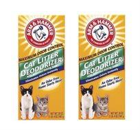 2 תוספים לחול החתול - ARM&HAMMER דאודורנט
