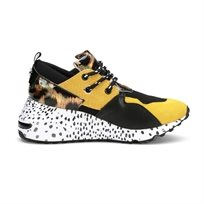 STEVE MADDEN נשים // CLIFF ANIMAL YELLOW