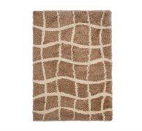 שטיח שאגי דגם ניו טאץ' ביתילי בשני גדלים לבחירה דגם ייחודי ונעים למגע מתאים לסלון הבית תוצרת כרמל