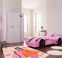 שטיח אירופאי לחדרי ילדים עם חריטות להדגשת הדוגמא במראה תלת מימד עשוי סיבים קצרים, קל לניקוי
