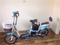 אופניים חשמליות 36-48 כולל כיסא מובנה מאחור - משלוח חינם!