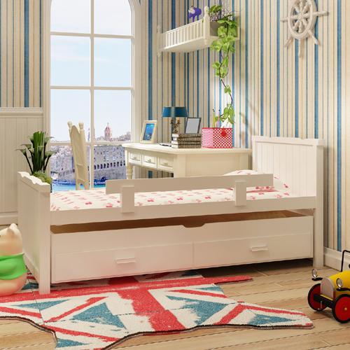 מיטת ילדים נפתחת מעץ מלא משולב עם מיטה נשלפת מבית HOME DECOR