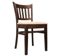 כיסא מטבח נוח ואלגנטי מעץ מלא דגם הסטון