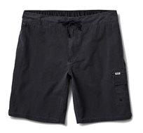 מכנסי גלישה לגברים Reef דגם Creek עם כיס צדדי בצבע שחור