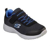 נעלי ספורט לילדים - שחור/כחול