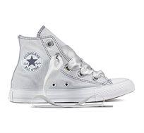 נעלי סניקרס גבוהות אול סטאר לנשים 559918 - אפור פלטיניום