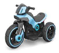 אופנוע משטרה ממונע כחול 3 גלגלים