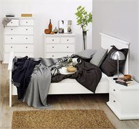 מיטה זוגית מעץ 160X200 תוצרת דנמרק דגם אלונית HOME DECOR