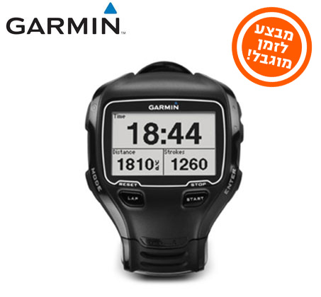 שעון ספורט Forerunner 910XT מבית GARMIN
