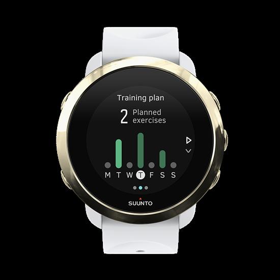 שעון ספורט וכושר עם דופק מובנה Suunto 3 Fitness מהדורה מוגבלת בשני צבעים לבחירה - משלוח חינם - תמונה 2