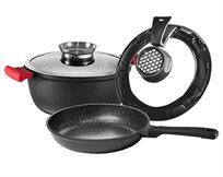 סט לבישול וטיגון ללא ריחות לוואי ROSO