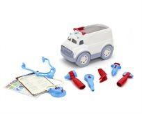 ליין ירוק: אמבולנס עם ערכת רופא - Green Toys