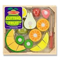 סט מעץ פירות לחיתוך
