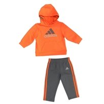 Adidas חליפה (3 חודשים - 7 שנים) - כתום קפוצון