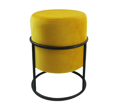 הדום עגול עם סטנד עשוי מתכת במגוון צבעים לבחירה U DESIGN - תמונה 2