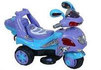 אופנוע ממונע לילדים 6V דגם צפרדע עם תאורה וכפתורים