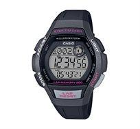 שעון יד ספורטיבי לנשים - אפור כהה