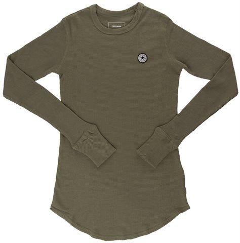 Converse נשים// חולצה חאקי
