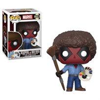 Funko Pop - Deadpool (Bob Ross) 319 בובת פופ דדפול