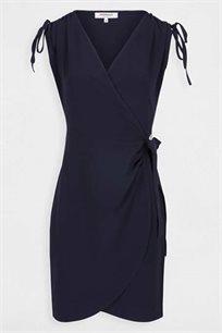 שמלת מעטפת MORGAN בצבע כחול מרין
