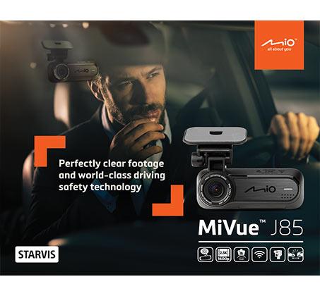 מצלמת רכב 2.5K QHD 1600p Mio MiVue דגם J85 - משלוח חינם - תמונה 3